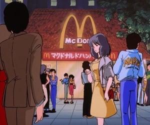 anime, aesthetic, and McDonalds image