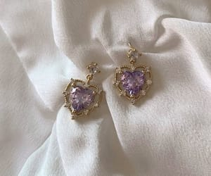 earrings, purple, and accessories image