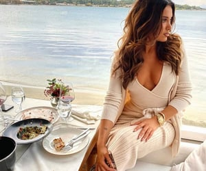 beauty, dinner, and Greece image