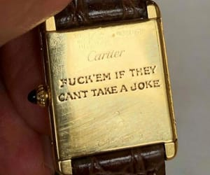 quotes, cartier, and gold image