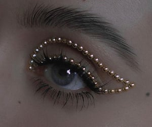 aesthetics, johannaherrstedt, and eye makeup image