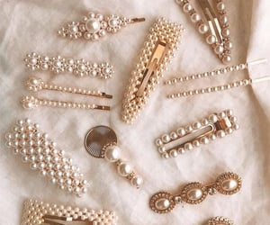 accessories, pearls, and style image