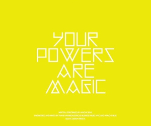 magic, yellow, and typography image