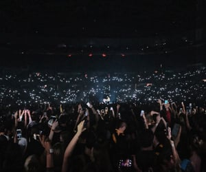 audience, concert, and crowd image