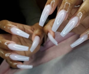 ghetto, glossy, and nails image