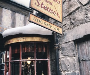 harry potter, hogsmeade, and brews and stews image