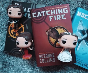 books, hunger games, and tribute von panem image