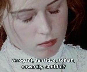 selfish, sensitive, and arrogant image