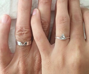 future, hands, and ring image