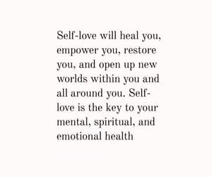 healing, self love, and self-love image
