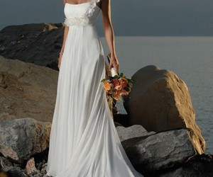 dress, wedding dresses, and wedding gowns image