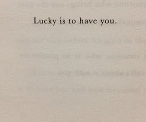quotes, love, and lucky image