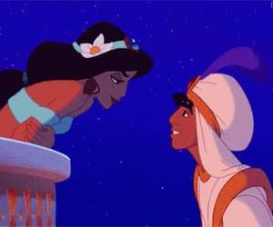 aladdin, kiss, and love image