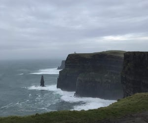cliffs, nature, and cliffs of moher image