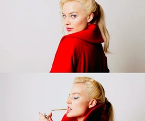 cigarette, terminal, and margot robbie image