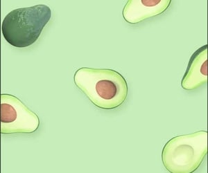 green, wallpaper, and avocado image