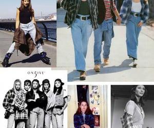 90s, fashion, and 90s fashion image