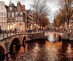 amsterdam, autumn, and travel image