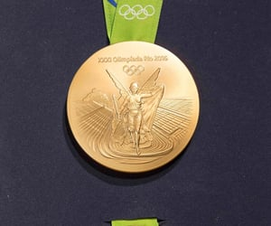 2016, gold, and medal image