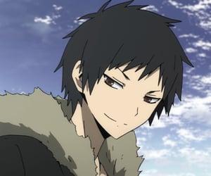 anime boy, izaya orihara, and anime image