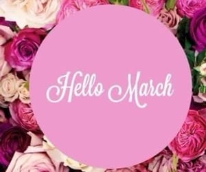 hello, march, and quotes image