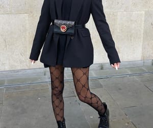 blogger, dr martens boots, and fendi image
