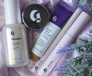 aesthetic, glossier, and makeup image