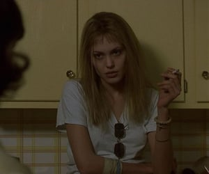 Angelina Jolie and girl interrupted image