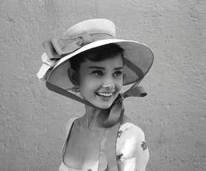 audrey hepburn, black and white, and vintage image