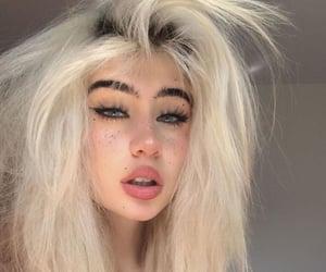eyebrows, eyelashes, and fluffy image