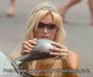 paris hilton, mirror, and quotes image
