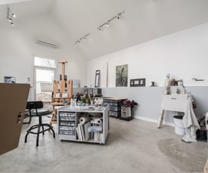 apartment, art, and creative image