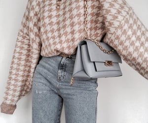 fashion, bag, and outfit image