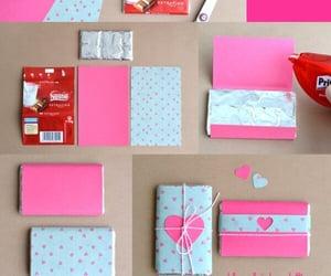 diy, chocolate, and gift image