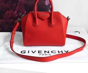 bag, red, and fashion image