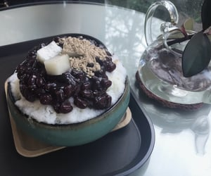 cafe, bingsu, and seoul image