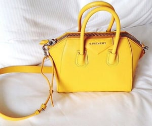 bag, Givenchy, and yellow image