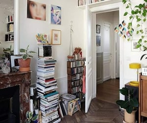 home, aesthetic, and books image
