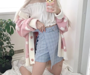 aesthetic, baby girl, and clothes image