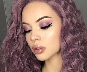 beauty, dye, and hair image