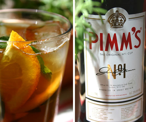 britain, drink, and pimms image