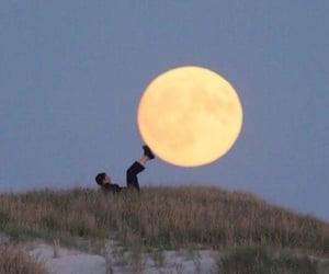 moon and aesthetic image