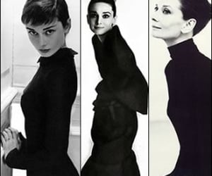 audrey hepburn, fashion, and then and now image