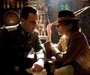 film, inglourious basterds, and michael fassbender image