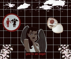 angel, Devil, and lockscreen image