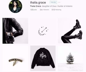 aesthetic, thalia grace, and heroes of olympus image