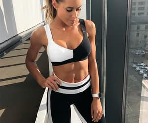 clothes, gym, and fitness image