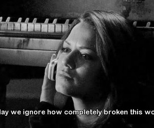 broken, quote, and one tree hill image