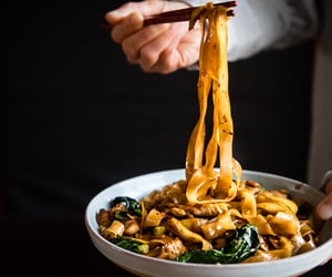 noodles, thai food, and asian food image
