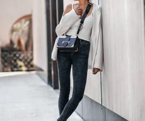blogger, Prada, and skinny jeans image